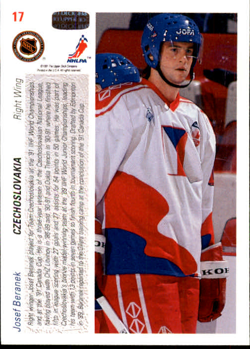 1991-92-Upper-Deck-Hockey-s-1-250-Rookies-You-Pick-Buy-10-cards-FREE-SHIP thumbnail 35