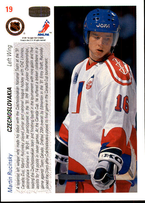 1991-92-Upper-Deck-Hockey-s-1-250-Rookies-You-Pick-Buy-10-cards-FREE-SHIP thumbnail 39