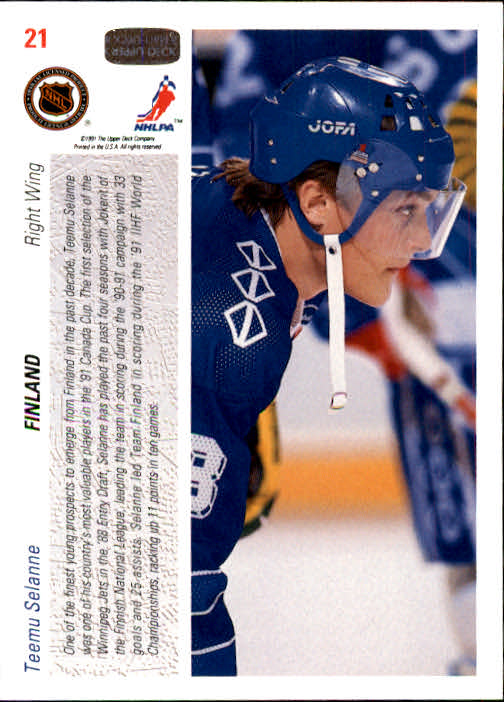1991-92-Upper-Deck-Hockey-s-1-250-Rookies-You-Pick-Buy-10-cards-FREE-SHIP thumbnail 43