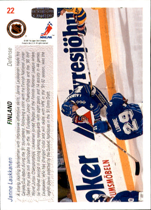 1991-92-Upper-Deck-Hockey-s-1-250-Rookies-You-Pick-Buy-10-cards-FREE-SHIP thumbnail 45