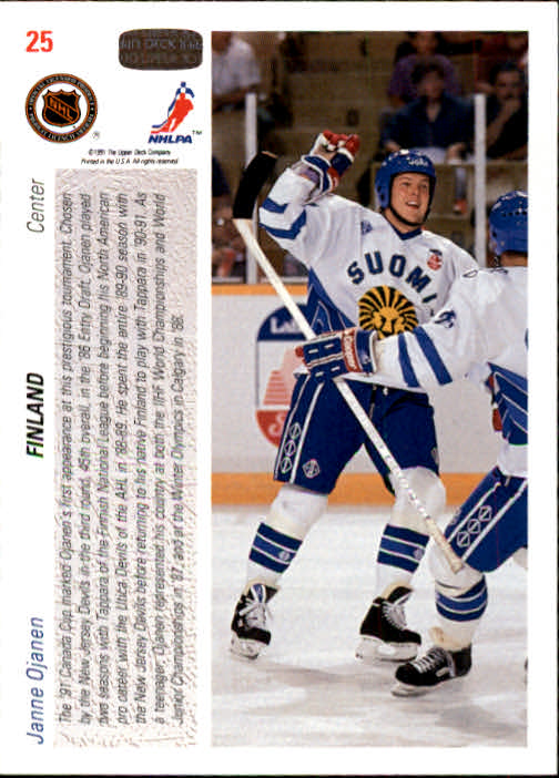 1991-92-Upper-Deck-Hockey-s-1-250-Rookies-You-Pick-Buy-10-cards-FREE-SHIP thumbnail 51