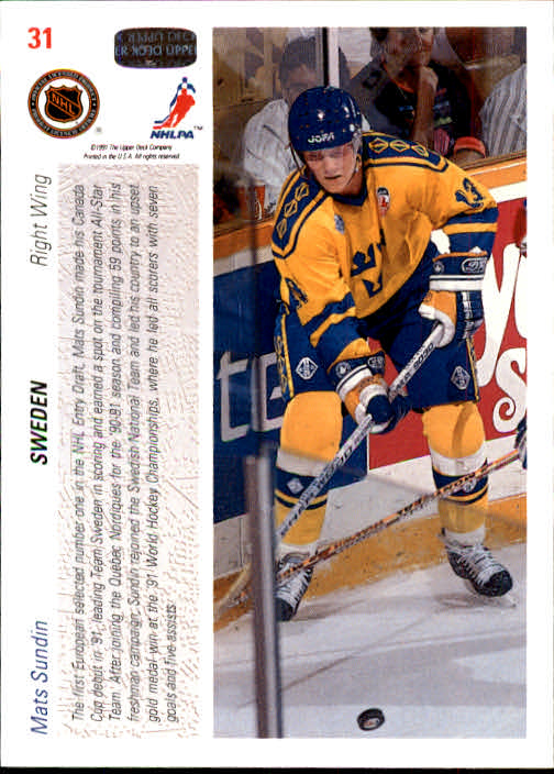 1991-92-Upper-Deck-Hockey-s-1-250-Rookies-You-Pick-Buy-10-cards-FREE-SHIP thumbnail 63