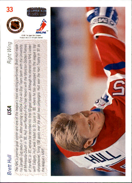 1991-92-Upper-Deck-Hockey-s-1-250-Rookies-You-Pick-Buy-10-cards-FREE-SHIP thumbnail 67