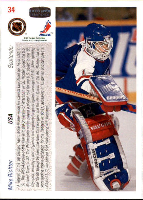 1991-92-Upper-Deck-Hockey-s-1-250-Rookies-You-Pick-Buy-10-cards-FREE-SHIP thumbnail 69