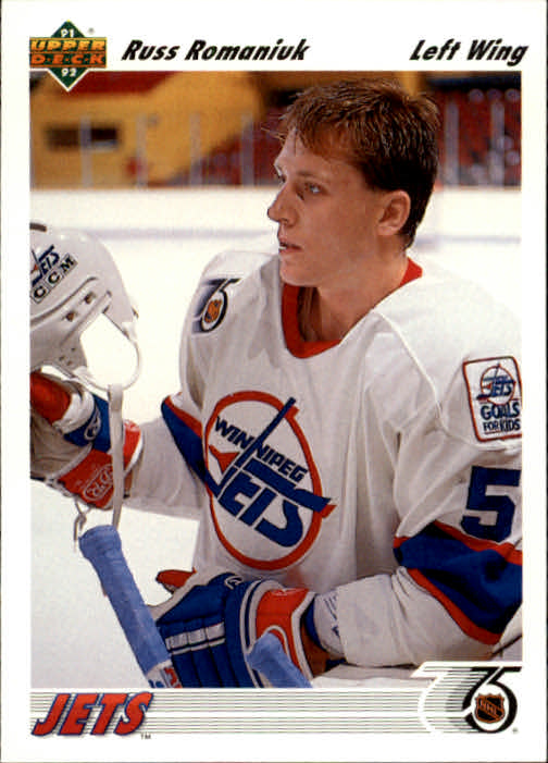1991-92-Upper-Deck-Hockey-s-1-250-Rookies-You-Pick-Buy-10-cards-FREE-SHIP thumbnail 92
