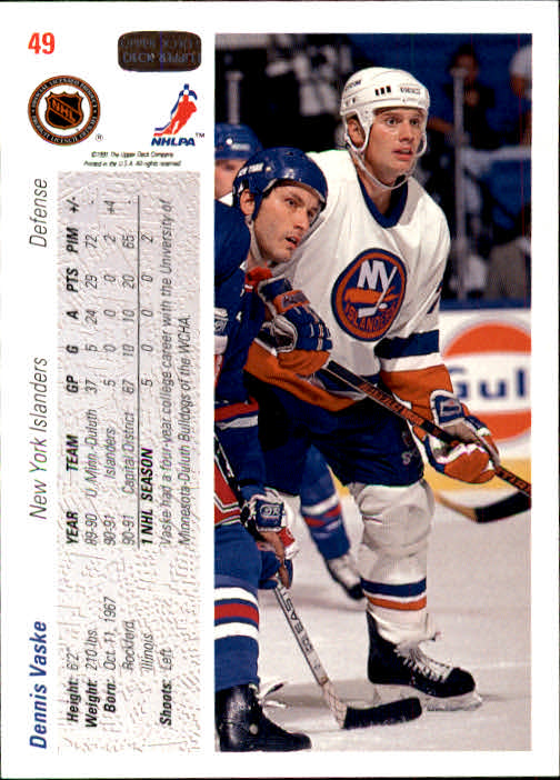 1991-92-Upper-Deck-Hockey-s-1-250-Rookies-You-Pick-Buy-10-cards-FREE-SHIP thumbnail 99