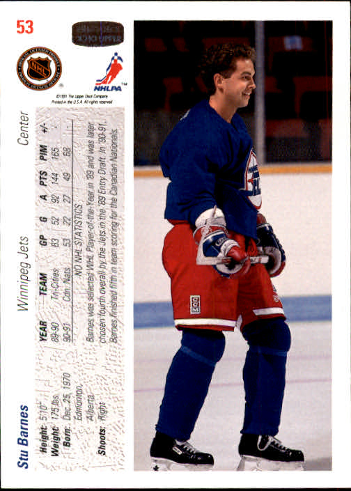 1991-92-Upper-Deck-Hockey-s-1-250-Rookies-You-Pick-Buy-10-cards-FREE-SHIP thumbnail 107