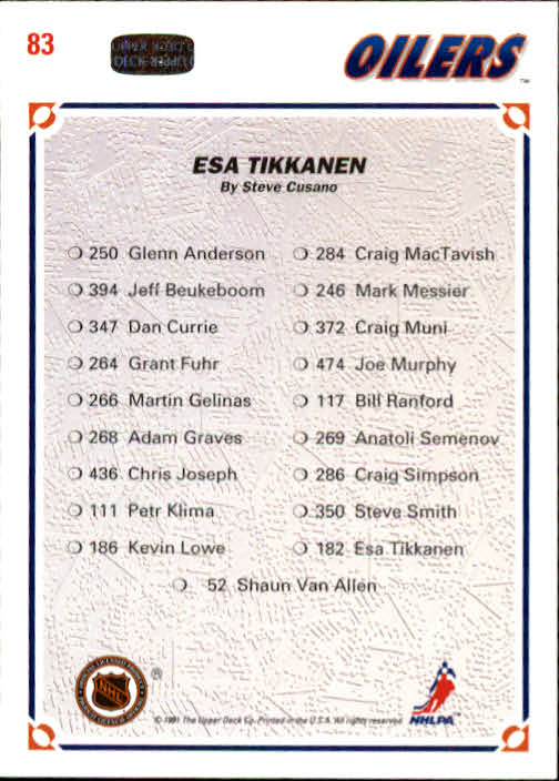 1991-92-Upper-Deck-Hockey-s-1-250-Rookies-You-Pick-Buy-10-cards-FREE-SHIP thumbnail 166