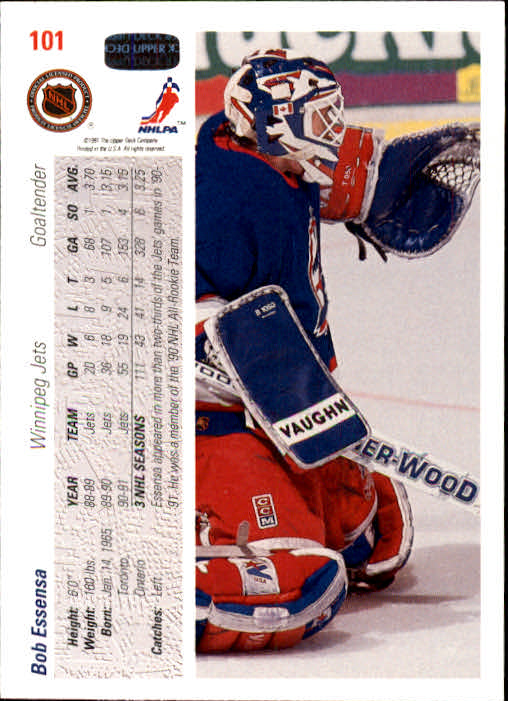 1991-92-Upper-Deck-Hockey-s-1-250-Rookies-You-Pick-Buy-10-cards-FREE-SHIP thumbnail 202