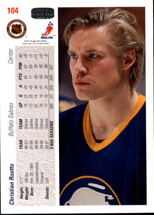 1991-92-Upper-Deck-Hockey-s-1-250-Rookies-You-Pick-Buy-10-cards-FREE-SHIP thumbnail 208