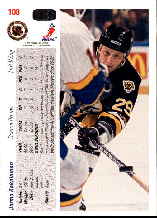 1991-92-Upper-Deck-Hockey-s-1-250-Rookies-You-Pick-Buy-10-cards-FREE-SHIP thumbnail 216