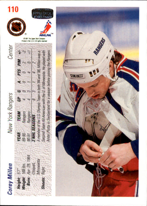 1991-92-Upper-Deck-Hockey-s-1-250-Rookies-You-Pick-Buy-10-cards-FREE-SHIP thumbnail 220