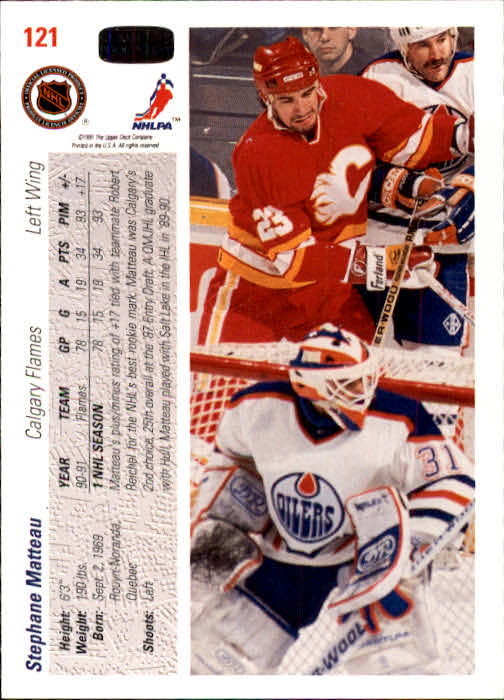 1991-92-Upper-Deck-Hockey-s-1-250-Rookies-You-Pick-Buy-10-cards-FREE-SHIP thumbnail 242