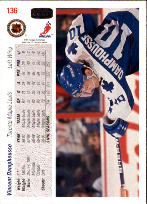 1991-92-Upper-Deck-Hockey-s-1-250-Rookies-You-Pick-Buy-10-cards-FREE-SHIP thumbnail 272