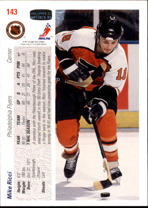 1991-92-Upper-Deck-Hockey-s-1-250-Rookies-You-Pick-Buy-10-cards-FREE-SHIP thumbnail 286