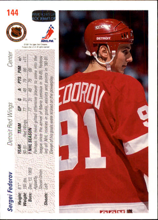 1991-92-Upper-Deck-Hockey-s-1-250-Rookies-You-Pick-Buy-10-cards-FREE-SHIP thumbnail 288