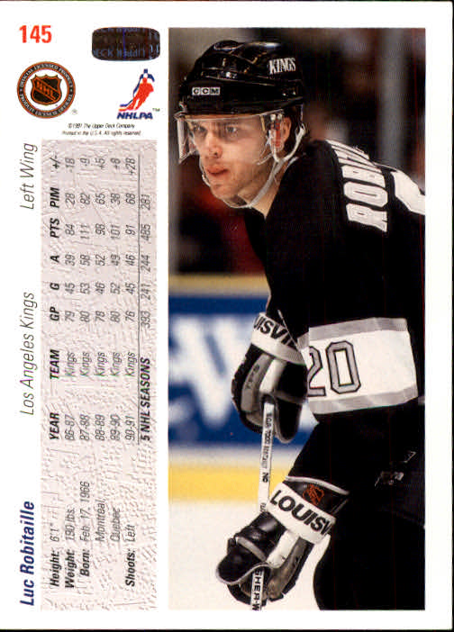 1991-92-Upper-Deck-Hockey-s-1-250-Rookies-You-Pick-Buy-10-cards-FREE-SHIP thumbnail 290