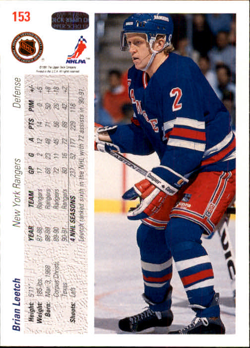 1991-92-Upper-Deck-Hockey-s-1-250-Rookies-You-Pick-Buy-10-cards-FREE-SHIP thumbnail 306