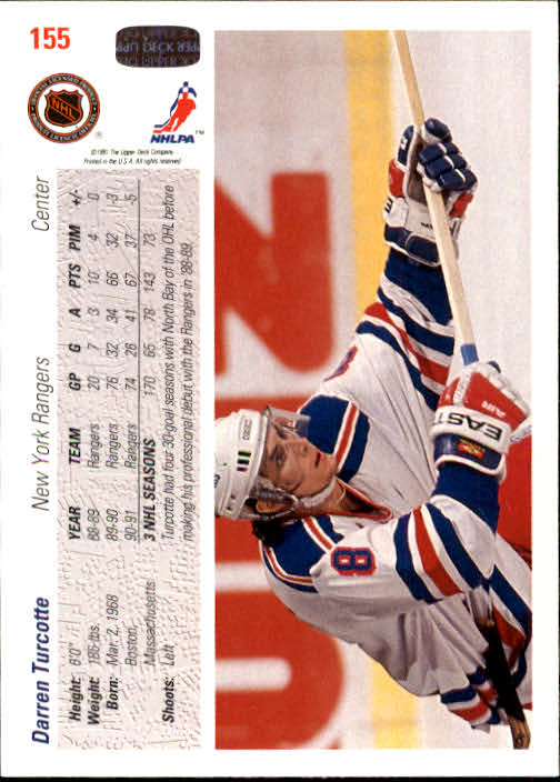 1991-92-Upper-Deck-Hockey-s-1-250-Rookies-You-Pick-Buy-10-cards-FREE-SHIP thumbnail 310