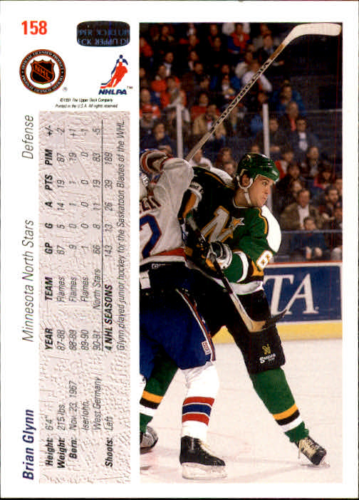 1991-92-Upper-Deck-Hockey-s-1-250-Rookies-You-Pick-Buy-10-cards-FREE-SHIP thumbnail 316
