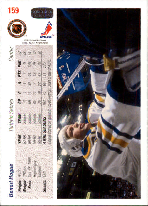 1991-92-Upper-Deck-Hockey-s-1-250-Rookies-You-Pick-Buy-10-cards-FREE-SHIP thumbnail 318