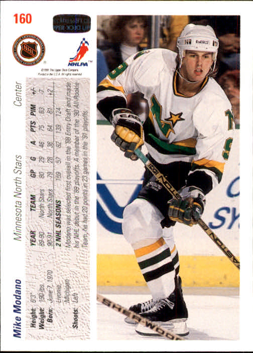 1991-92-Upper-Deck-Hockey-s-1-250-Rookies-You-Pick-Buy-10-cards-FREE-SHIP thumbnail 320