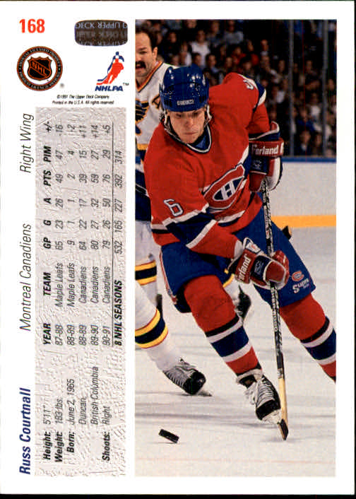 1991-92-Upper-Deck-Hockey-s-1-250-Rookies-You-Pick-Buy-10-cards-FREE-SHIP thumbnail 336