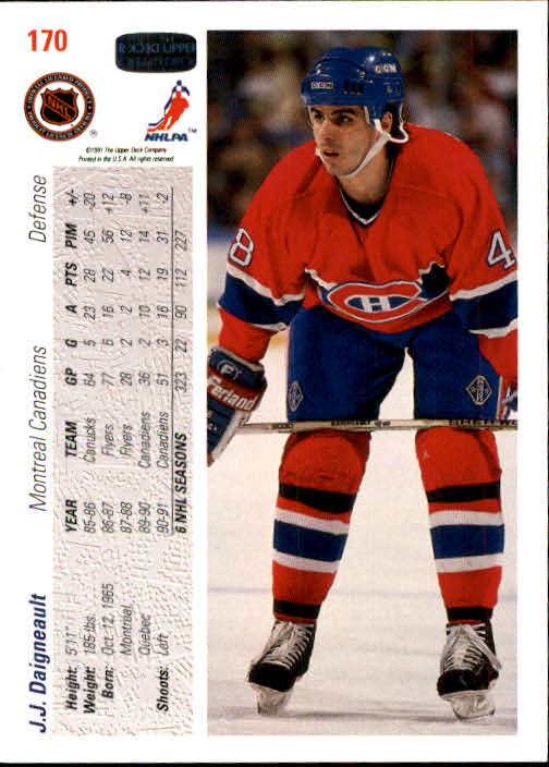 1991-92-Upper-Deck-Hockey-s-1-250-Rookies-You-Pick-Buy-10-cards-FREE-SHIP thumbnail 340
