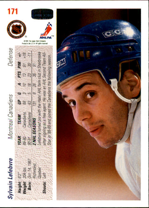 1991-92-Upper-Deck-Hockey-s-1-250-Rookies-You-Pick-Buy-10-cards-FREE-SHIP thumbnail 342