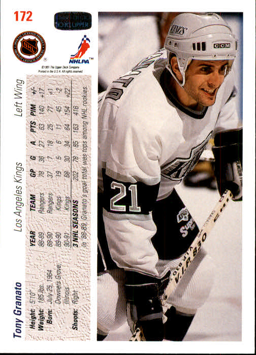 1991-92-Upper-Deck-Hockey-s-1-250-Rookies-You-Pick-Buy-10-cards-FREE-SHIP thumbnail 344