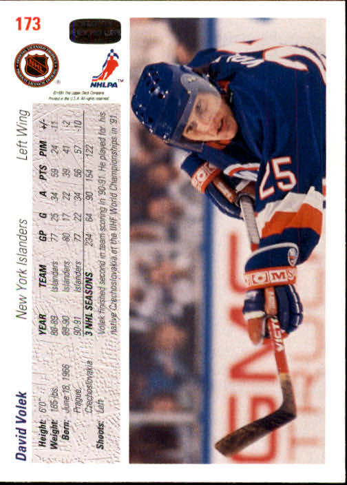 1991-92-Upper-Deck-Hockey-s-1-250-Rookies-You-Pick-Buy-10-cards-FREE-SHIP thumbnail 346