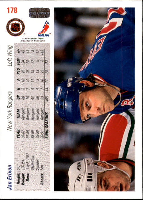 1991-92-Upper-Deck-Hockey-s-1-250-Rookies-You-Pick-Buy-10-cards-FREE-SHIP thumbnail 356