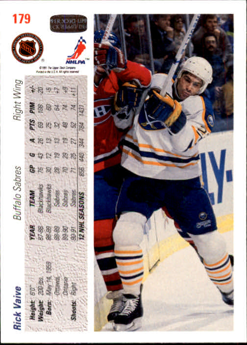 1991-92-Upper-Deck-Hockey-s-1-250-Rookies-You-Pick-Buy-10-cards-FREE-SHIP thumbnail 358