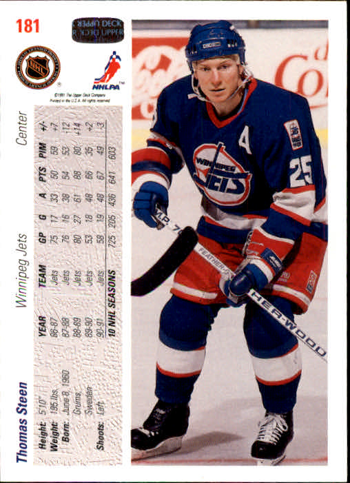 1991-92-Upper-Deck-Hockey-s-1-250-Rookies-You-Pick-Buy-10-cards-FREE-SHIP thumbnail 362