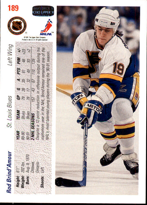 1991-92-Upper-Deck-Hockey-s-1-250-Rookies-You-Pick-Buy-10-cards-FREE-SHIP thumbnail 378