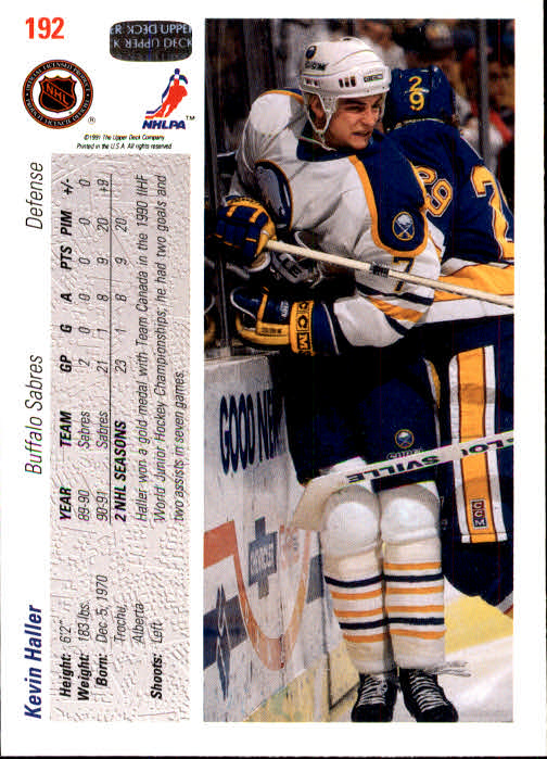 1991-92-Upper-Deck-Hockey-s-1-250-Rookies-You-Pick-Buy-10-cards-FREE-SHIP thumbnail 384