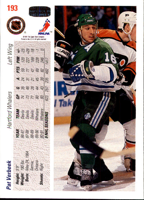 1991-92-Upper-Deck-Hockey-s-1-250-Rookies-You-Pick-Buy-10-cards-FREE-SHIP thumbnail 386