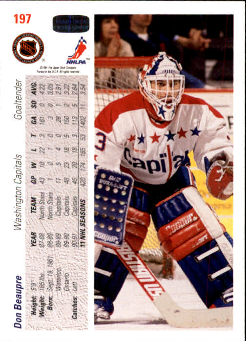 1991-92-Upper-Deck-Hockey-s-1-250-Rookies-You-Pick-Buy-10-cards-FREE-SHIP thumbnail 394