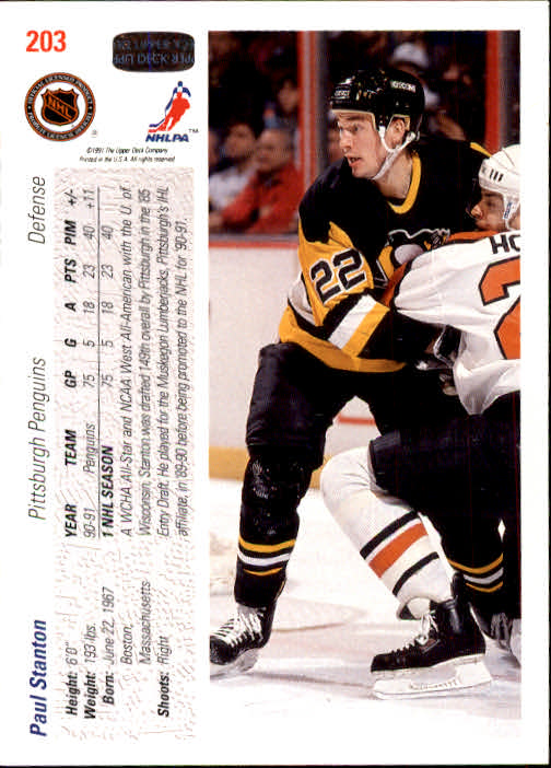 1991-92-Upper-Deck-Hockey-s-1-250-Rookies-You-Pick-Buy-10-cards-FREE-SHIP thumbnail 406