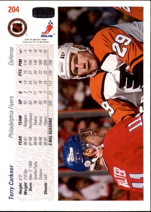 1991-92-Upper-Deck-Hockey-s-1-250-Rookies-You-Pick-Buy-10-cards-FREE-SHIP thumbnail 408