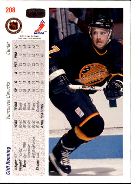 1991-92-Upper-Deck-Hockey-s-1-250-Rookies-You-Pick-Buy-10-cards-FREE-SHIP thumbnail 416