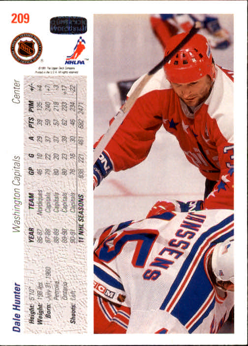 1991-92-Upper-Deck-Hockey-s-1-250-Rookies-You-Pick-Buy-10-cards-FREE-SHIP thumbnail 418