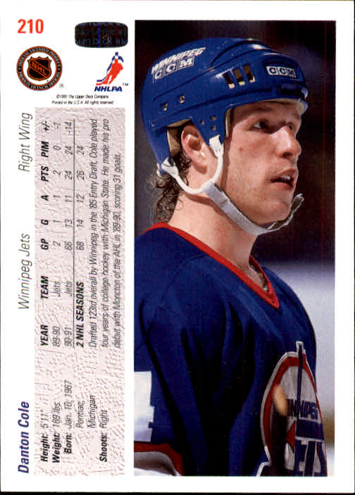 1991-92-Upper-Deck-Hockey-s-1-250-Rookies-You-Pick-Buy-10-cards-FREE-SHIP thumbnail 420