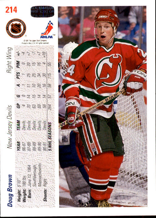 1991-92-Upper-Deck-Hockey-s-1-250-Rookies-You-Pick-Buy-10-cards-FREE-SHIP thumbnail 428