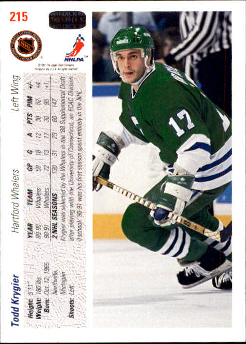 1991-92-Upper-Deck-Hockey-s-1-250-Rookies-You-Pick-Buy-10-cards-FREE-SHIP thumbnail 430