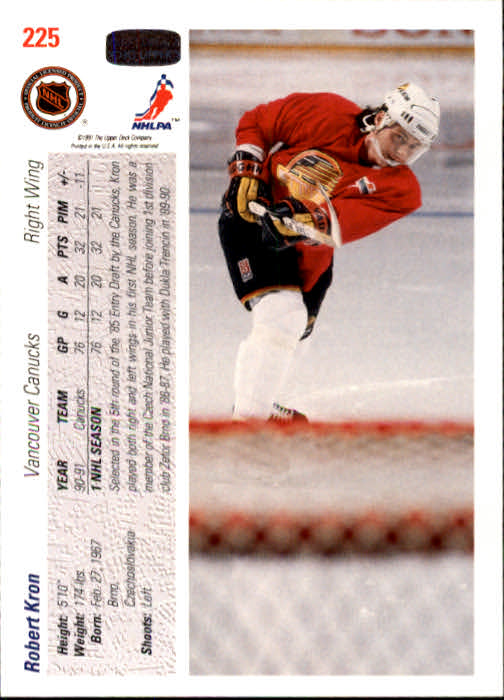 1991-92-Upper-Deck-Hockey-s-1-250-Rookies-You-Pick-Buy-10-cards-FREE-SHIP thumbnail 450