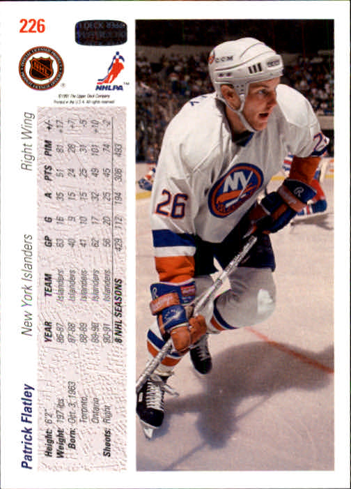 1991-92-Upper-Deck-Hockey-s-1-250-Rookies-You-Pick-Buy-10-cards-FREE-SHIP thumbnail 452