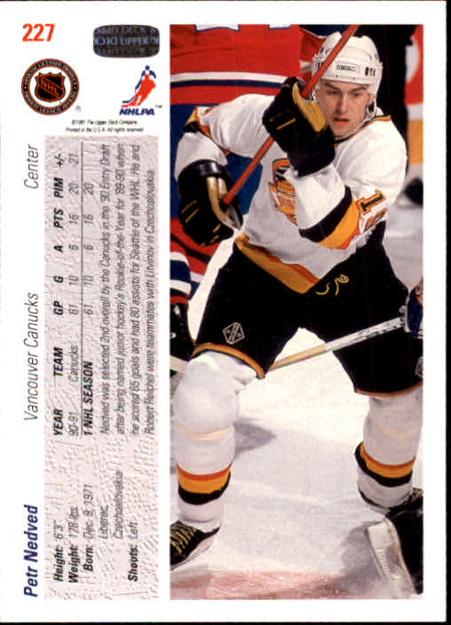 1991-92-Upper-Deck-Hockey-s-1-250-Rookies-You-Pick-Buy-10-cards-FREE-SHIP thumbnail 454