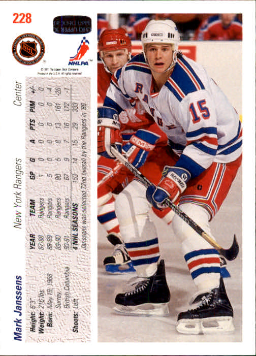 1991-92-Upper-Deck-Hockey-s-1-250-Rookies-You-Pick-Buy-10-cards-FREE-SHIP thumbnail 456