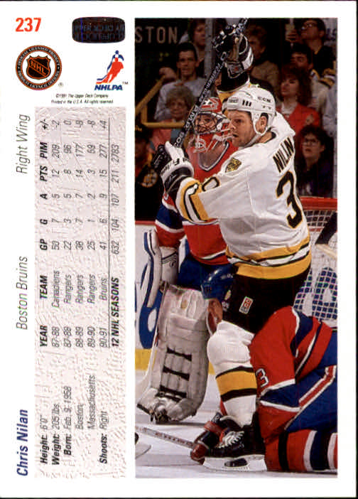 1991-92-Upper-Deck-Hockey-s-1-250-Rookies-You-Pick-Buy-10-cards-FREE-SHIP thumbnail 474